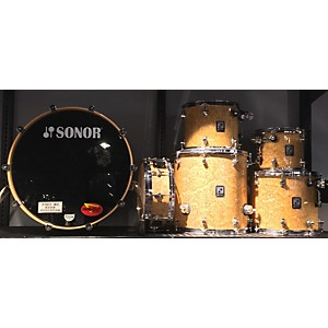 Pre-owned Sonor 2003 S Class Clear Power 6-piece Drum Kit Drum Kit