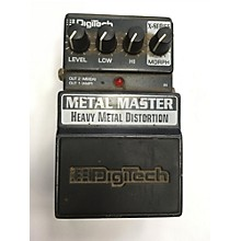 Digitech 2003 XMM Metal Master Heavy Metal Distortion Effect Pedal