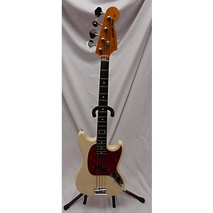 Pre-owned Fender 2004 1966 Reissue Mustang Bass Electric Bass Guitar by Fender