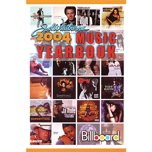 Record Research 2004 Billboard Music Yearbook Book Series Written by Joel Whitburn