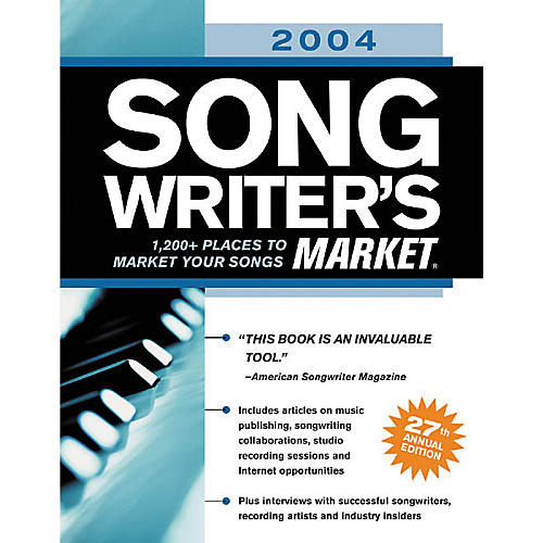 Writer's Digest 2004 Songwriter's Market Book-thumbnail