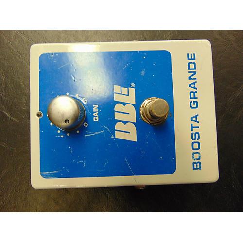 BBE 2005 BG20 Boosta Grande WHITE AND BLUE Effect Pedal