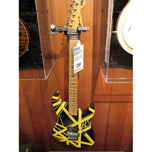 Charvel 2005 EVH Solid Body Electric Guitar Black and Yellow