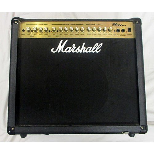 used marshall 2005 mg100dfx guitar combo amp guitar center. Black Bedroom Furniture Sets. Home Design Ideas