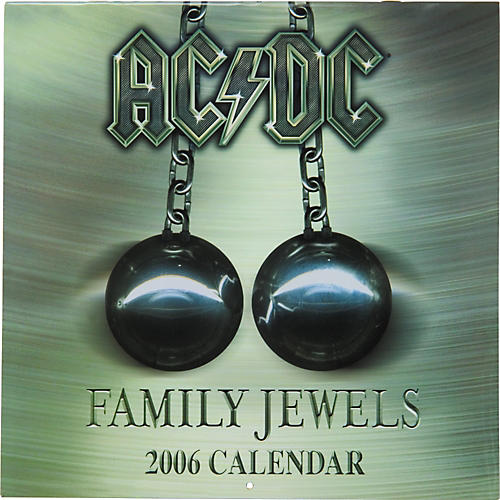 The Card Cafe 2006 AC/DC Family Jewels Calendar