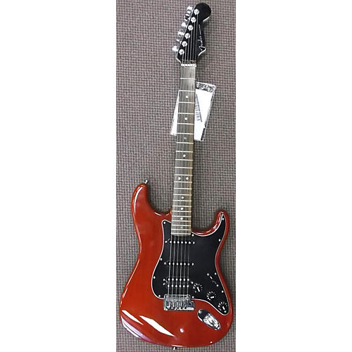 Fender 2006 American Select Stratocaster HSS Trans Red Solid Body Electric Guitar