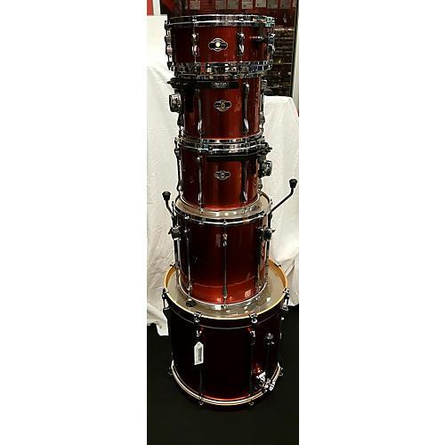 used tama 2006 superstar drum kit lava red guitar center. Black Bedroom Furniture Sets. Home Design Ideas