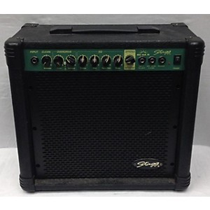 Pre-owned Stagg 2007 20 GA Guitar Power Amp Battery Powered Amp