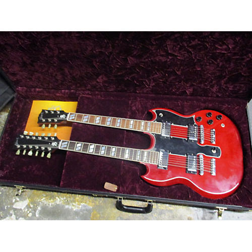 Gibson 2007 EDS1275 SG Double Neck Jimmy Page Model