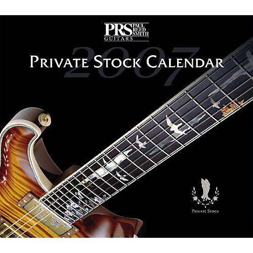 PRS 2007 Private Stock Calendar