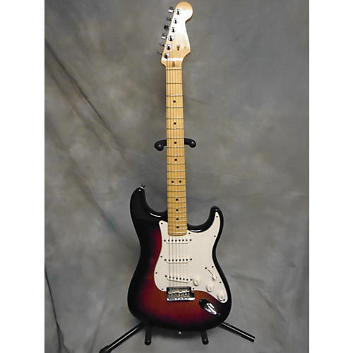 used fender 2008 american standard stratocaster solid body electric guitar 3 color sunburst. Black Bedroom Furniture Sets. Home Design Ideas
