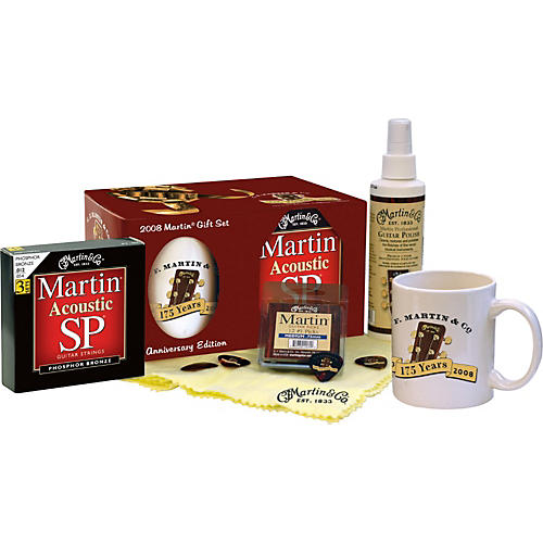 Martin 2008 Anniversary Collectable Guitar Gift Set