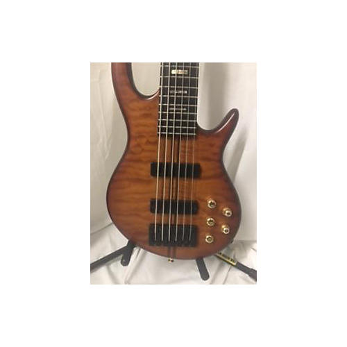 used carvin 2008 icon electric bass guitar flame walnut guitar center. Black Bedroom Furniture Sets. Home Design Ideas