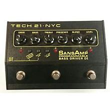 Tech 21 2008 Sansamp PBDR Bass Driver DI Bass Effect Pedal
