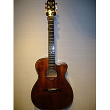 Alvarez 2008 WY1K Yairi Koa Acoustic Electric Guitar