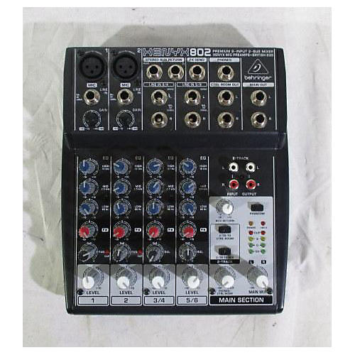 Used Behringer 2009 Xenyx 802 Unpowered Mixer