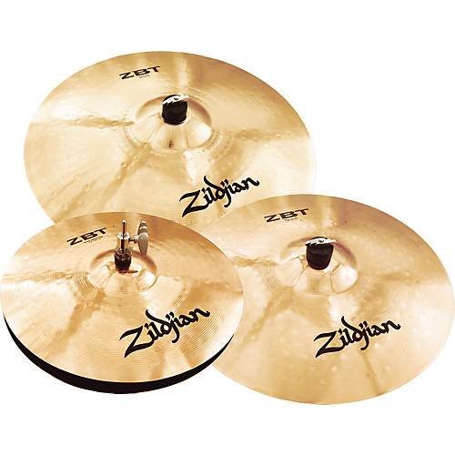 Zildjian 2009 ZBT 4 Rock Box Cymbal Set