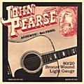 John Pearse 200L 80/20 Bronze Acoustic Guitar Strings-thumbnail