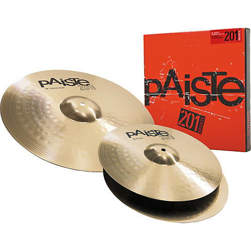 Paiste 201 Bronze Essential Set 13/18-thumbnail