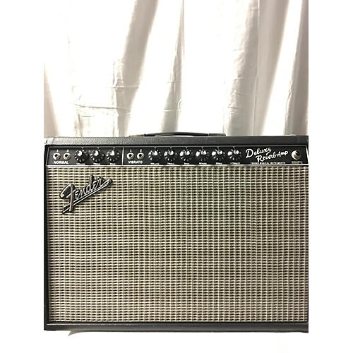 Fender 2010 Deluxe Reverb 22W 1x12 Tube Guitar Combo Amp