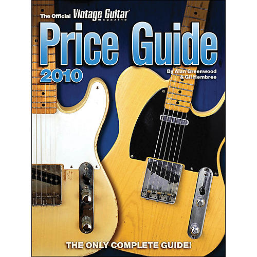 Hal Leonard 2010 Official Vintage Guitar Magazine Price Guide-thumbnail