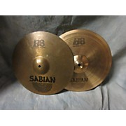 Sabian 2010s 14in B8 Hi Hat Pair Cymbal