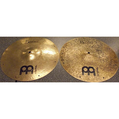 Meinl 2010s 14in BYZANCE FAST FAST HATS Cymbal-thumbnail