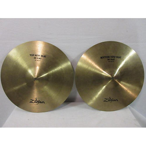 Zildjian 2010s 14in New Beat Hi Hat Pair Cymbal