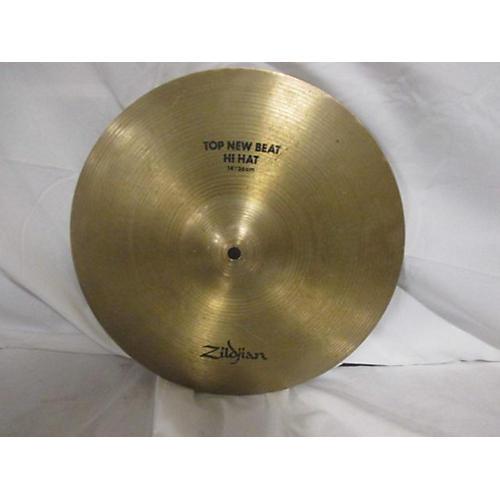Zildjian 2010s 14in Top New Beat Hi Hat Cymbal
