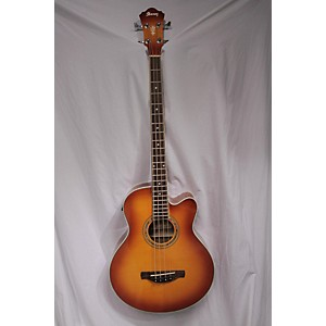 Pre-owned Ibanez 2010s AEB20E Acoustic Bass Guitar