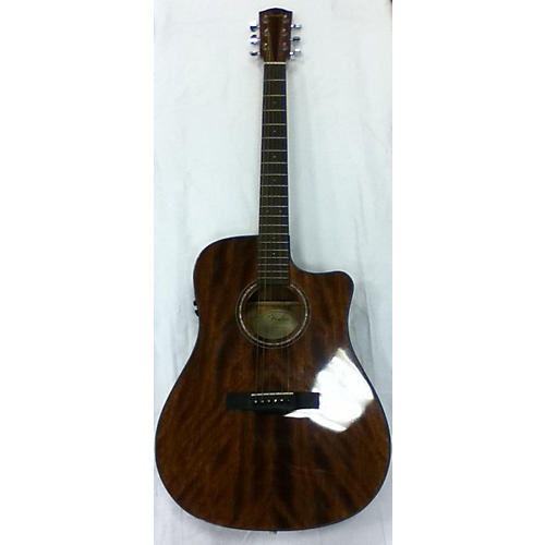 Fender 2010s CD60CE Mahogany Acoustic Electric Guitar