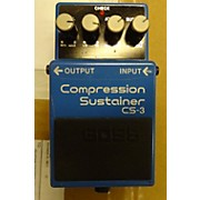 Boss 2010s CS3 Compressor Sustainer Effect Pedal