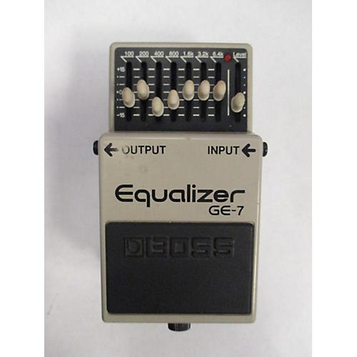Boss 2010s GE7 Equalizer Pedal