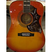 Epiphone 2010s Hummingbird Acoustic Guitar