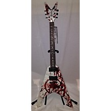 Dean 2010s Michael Amott Signature Tyrant X Splatter Electric Guitar