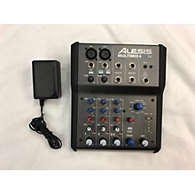 Alesis 2010s MultiMix 4 USB FX 4-Channel Unpowered Mixer