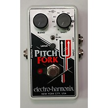 Electro-Harmonix 2010s Pitch Fork Polyphonic Pitch Shifting Effect Pedal