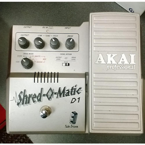 Akai Professional 2010s SHRED-O-MATIC GREY Effect Pedal-thumbnail