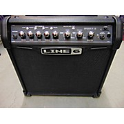 Line 6 2010s Spider IV 15W 1X8 Guitar Combo Amp