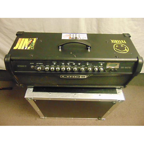 Line 6 2010s Spider IV HD150 Solid State Guitar Amp Head
