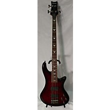 Schecter Guitar Research 2010s Stiletto Extreme 4 String Electric Bass Guitar