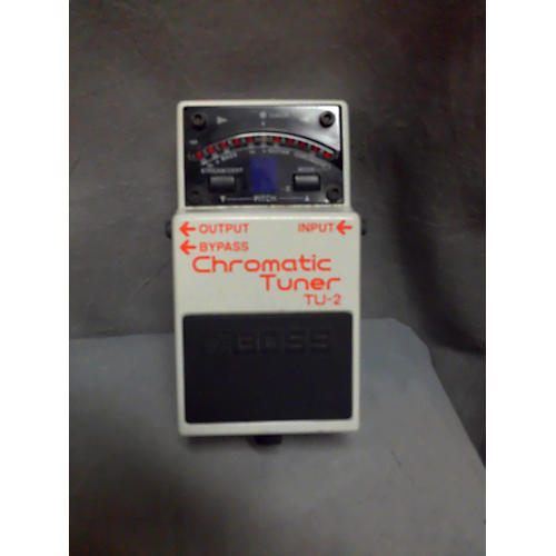 Boss 2010s TU2 Chromatic Tuner Pedal-thumbnail