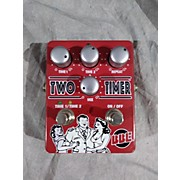 BBE 2010s Two Timer Dual Analog Delay Effect Pedal