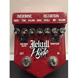 Pre-owned Visual Sound 2010s V2JH Jekyll and Hyde Ultimate Overdrive Effect Pedal by Visual Sound