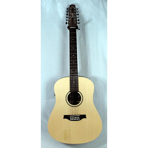 used seagull 2010s walnut 12 isyst 12 string acoustic electric guitar guitar center. Black Bedroom Furniture Sets. Home Design Ideas