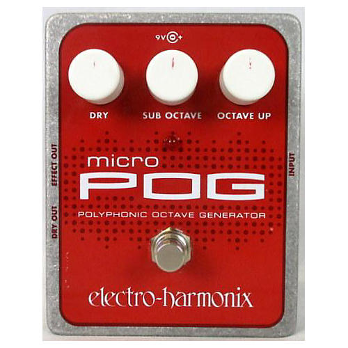 Electro-Harmonix 2010s XO Micro POG Polyphonic Octave Generator Effect Pedal