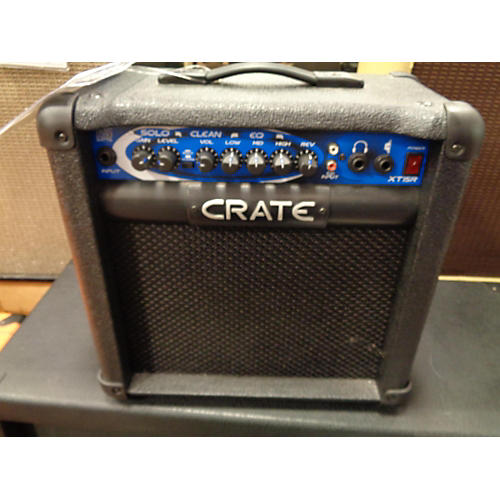 used crate 2010s xt15r guitar combo amp guitar center. Black Bedroom Furniture Sets. Home Design Ideas