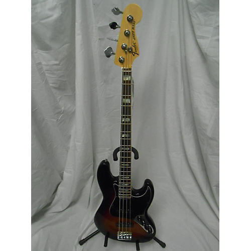 used fender 2011 american deluxe jazz bass electric bass guitar guitar center. Black Bedroom Furniture Sets. Home Design Ideas