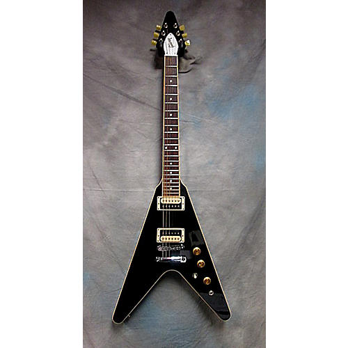 Gibson 2011 Flying V Traditional Pro Solid Body Electric Guitar Ebony