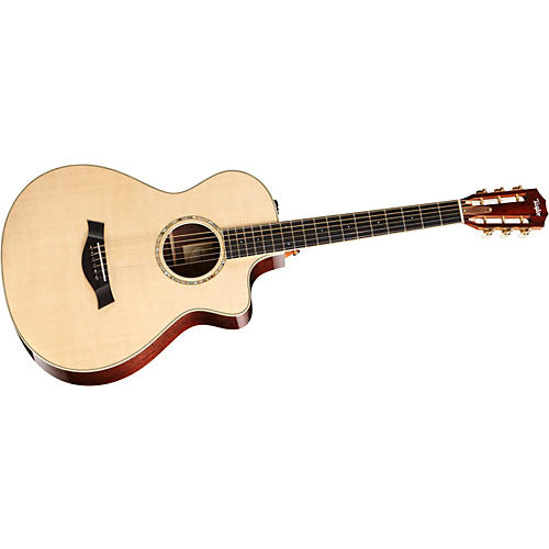 Taylor 2012 12-FRETce-L Rosewood/Spruce Left-Handed Acoustic-Electric Guitar-thumbnail